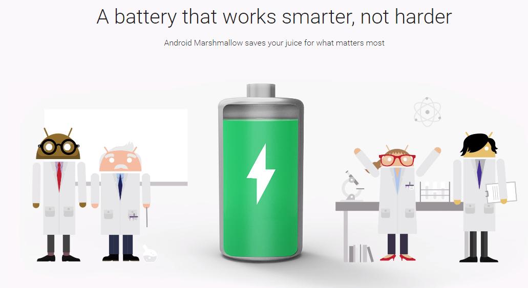 Keunggulan sistem operasi android Marshmallow (android.com)
