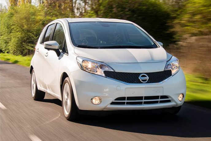 Nissan note (www.nissan-global.com)