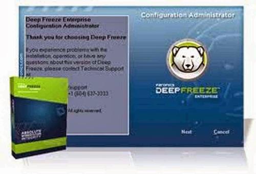 Cara mematikan deep freeze